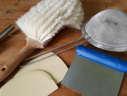 Quelques outils de boulangerie